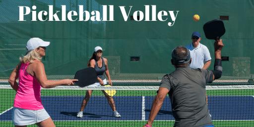 pickleball volley