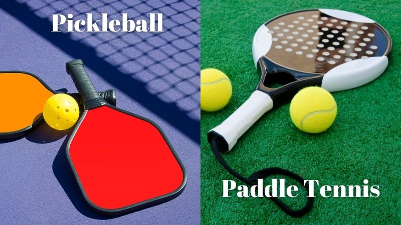 paddle Tennis And Pickleball equipment's