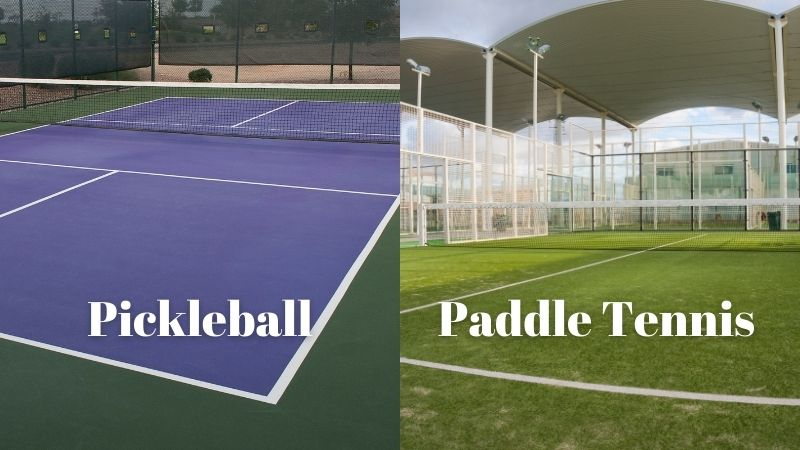 paddle Tennis And Pickleball court