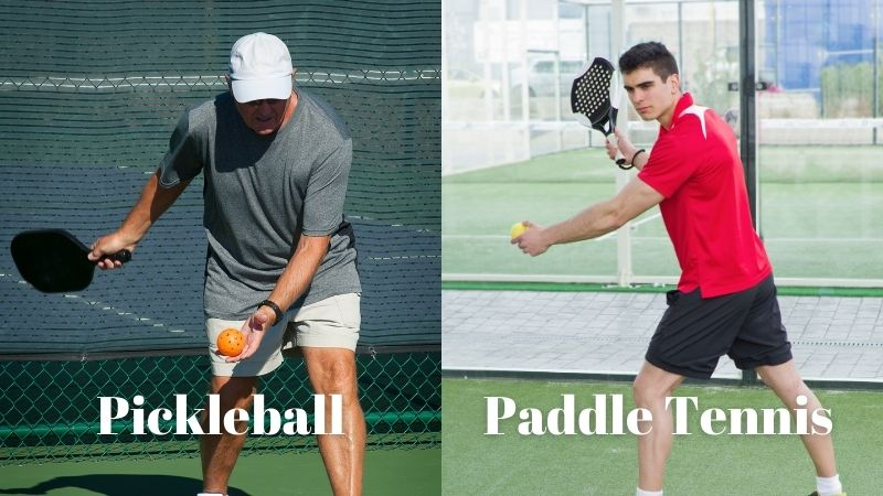 paddle Tennis And Pickleball serve