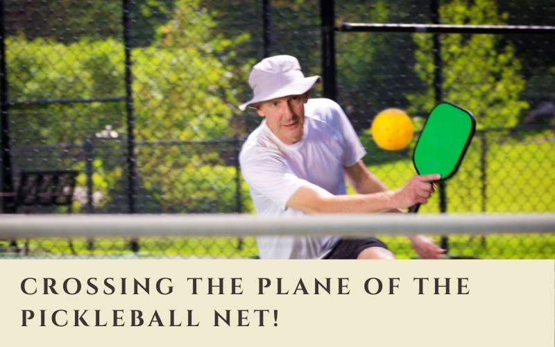 Can Your Paddle Cross the Net in Pickleball?