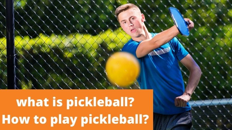what is pickleball and how to play pickleball.